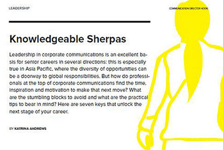 Knowledgeable Sherpas
