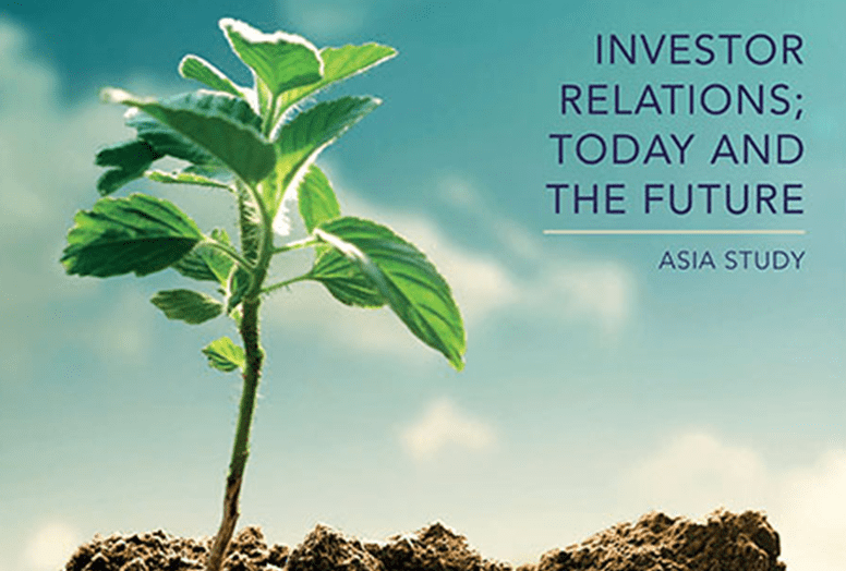 Investor Relations; Today and the Future