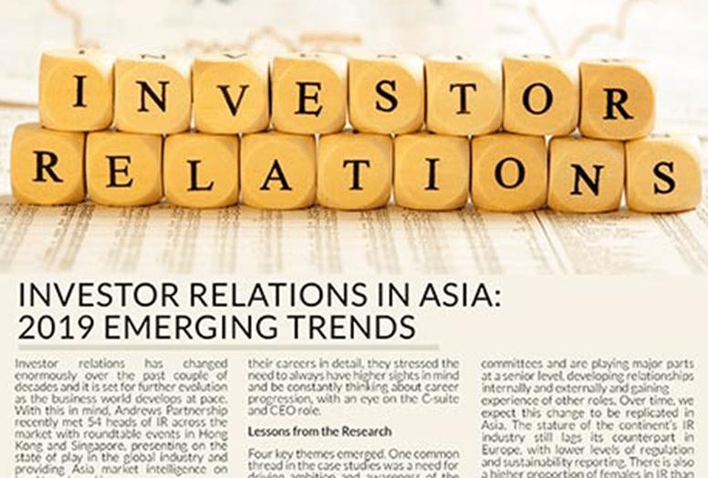 Investor Relations in ASIA